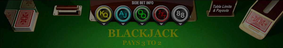 Kõrvalpanustega blackjack